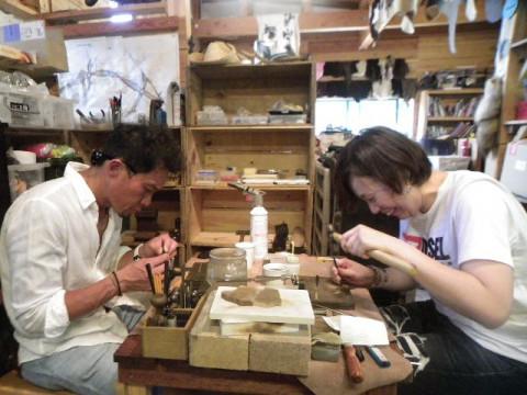 岐阜県 山県市 シルバーリング制作体験 ☆ 高品位の銀の地金から世界に1個のマイリングを手作り!