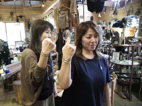 岐阜県 山県市 シルバークラフト・シルバー950・フェザーペンダントトップ制作体験