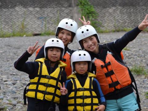岐阜県 郡上市 長良川ラフティング ☆ 6歳から参加OK・午前&午後出発!嬉しいポイントがたくさん