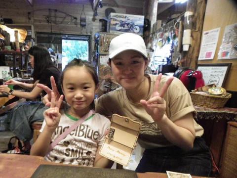 岐阜県 山県市 レザークラフト体験 ☆ 世界に1個の革小物・超素敵な小銭入れかキーケース作っちゃおう!