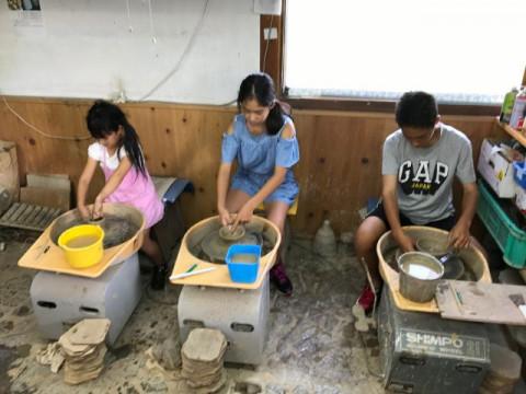 石川県 輪島市 【 ろくろ体験 】☆ 初心者歓迎・お好きな陶器を自由に作りましょう♪