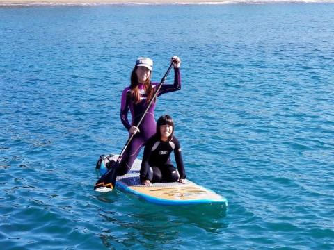 福井県 坂井市【SUP体験】☆初心者向け・3歳以上・1人様から参加OK! 大人気のSUPで海上散歩を楽しもう!