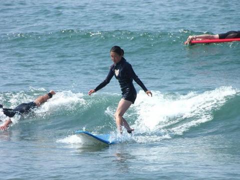 福井県 坂井市【サーフィン体験】☆ 初心者集まれ!日本サーフィン連盟公認スクールで基礎から学ぼう♪