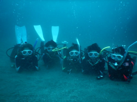 福井県 越前町【体験ダイビング】可愛いウミウシやタツノオトシゴが住む長須浜で半日体験ダイビング♪
