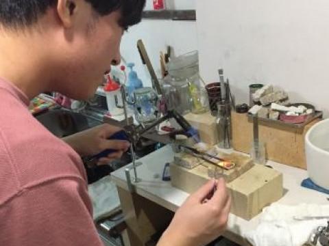 奈良県 奈良市【彫金体験】 近鉄奈良駅から徒歩1分・女性ペア・カップル限定企画 ☆ シルバーリングに好きな模様を入れて、世界でひとつだけの特別なリングを作りませんか?