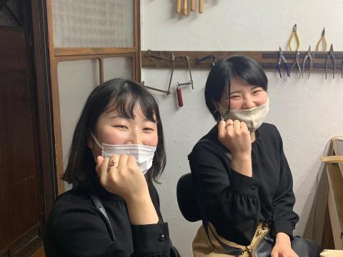 奈良県 奈良市【彫金体験】 近鉄奈良駅から徒歩1分・10歳から参加OK ☆ 可愛い鹿のツノをモチーフにしたリングを作ってみませんか?当日持ち帰りもOK!