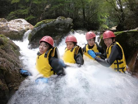 奈良県 吉野町 【キャニオニング体験】 ☆ 吉野の大自然を満喫! 1日遊べるフォレストコース