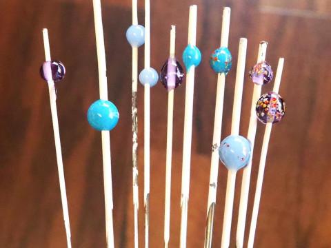 大阪府 堺市 【 ガラス玉制作体験60分】 ☆ 3歳から参加OK!古民家で、ガラス棒を溶かしてオリジナルのガラス玉を作ります ♪