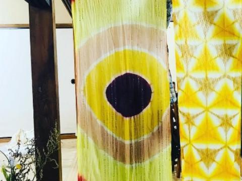 奈良県 明日香村 【 染色体験 】 ☆ 四季折々の草木を選んで、古代に近い手法で染め上げる「ストール染色体験」・2名様から開催!