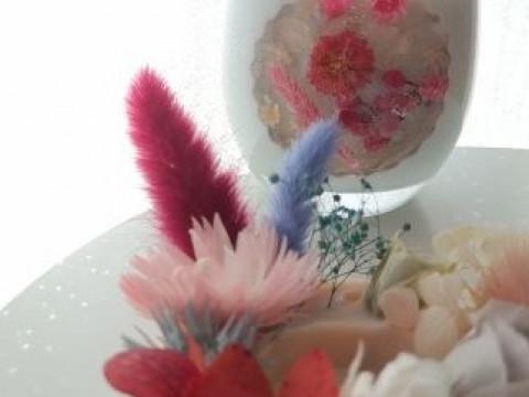 兵庫県 淡路島 【キャンドル制作体験】 ☆ お花いっぱいの可愛いキャンドル作り!グラスは灯して、サシェはお部屋に飾って楽しみましょう ♪