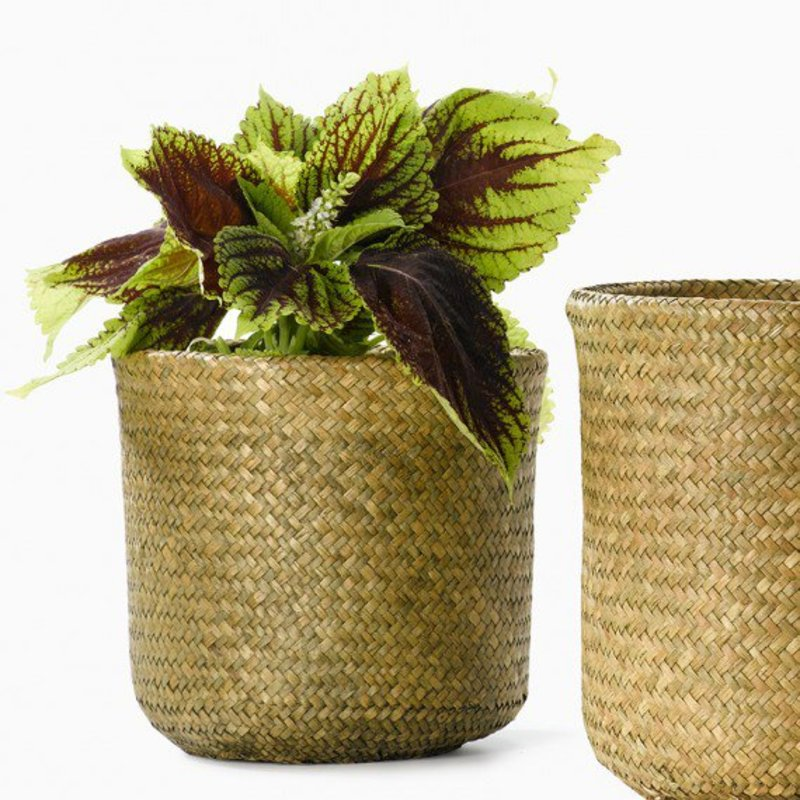 Double woven basket plant pot storage 1649rs as4 dcw 1