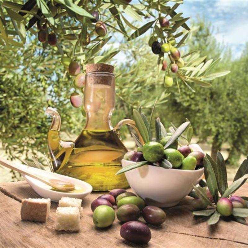 Pure olives pure olive oil