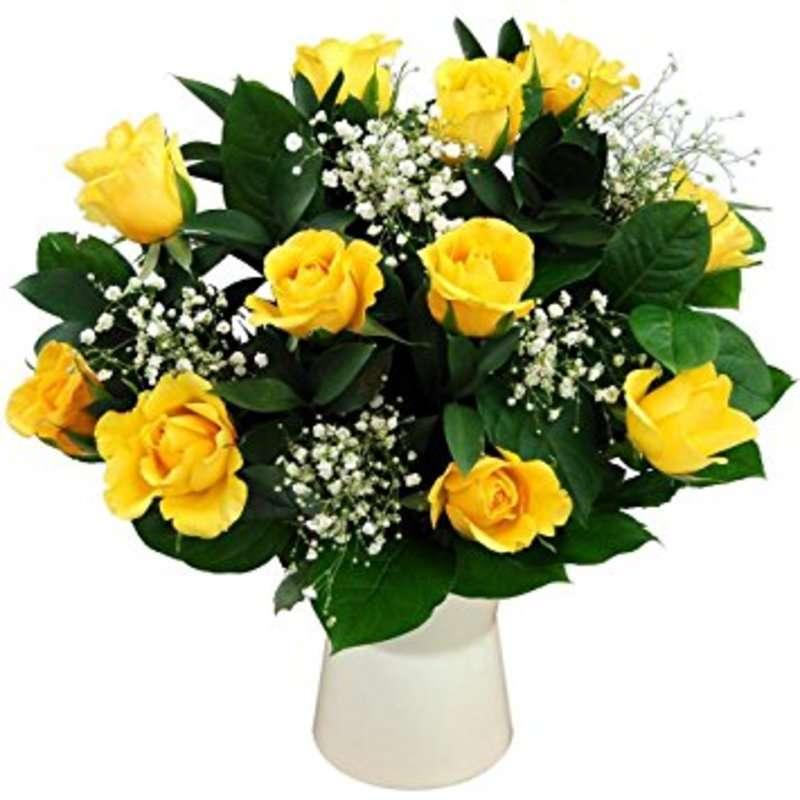 花言葉はジェラシー 黄色いバラをギフトに活用しよう ひとはなノート