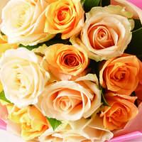 オレンジ系の花束は元気系!飾り方や贈り方も
