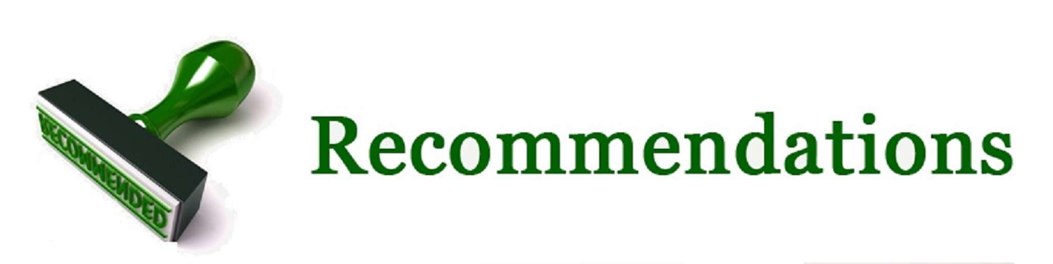 3 recommend
