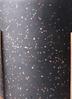 鉢カバー ホルスト シリンダー 6号鉢用 スパークルブラック ウッドポットスタンド付き #KONTON HO-R01B09V 3枚目