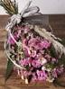 【母の日ギフト】 【季節の花】 スターチス スワッグ(ピンク系) Sサイズ 4枚目