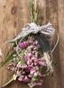 【母の日ギフト】 【季節の花】 スターチス スワッグ(ピンク系) Sサイズ 2枚目