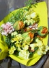 チューリップ 花束 イエローオレンジ S 4枚目