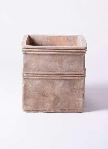 鉢カバー テラアストラ カペラキュビ 8号鉢用 赤茶色