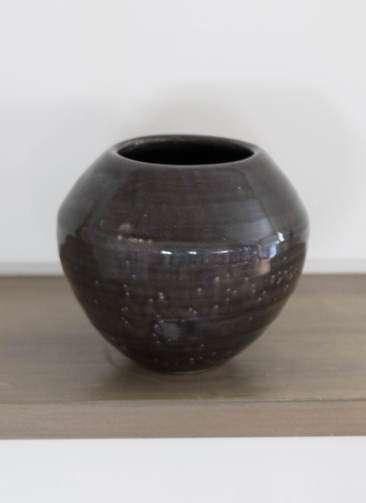 鉢カバー Antique Terra Cotta(アンティークテラコッタ) 3号鉢用 Black