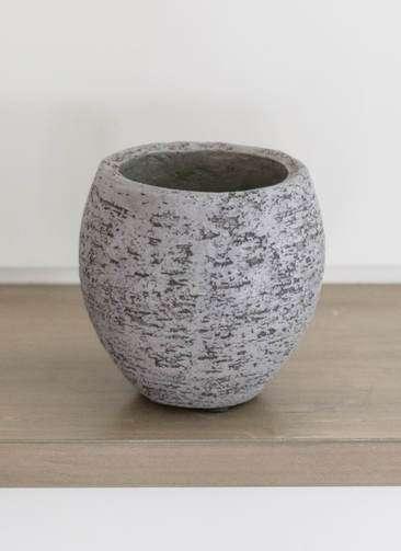 鉢カバー Eco Stone(エコストーン) 3号鉢用 Gray