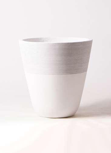 鉢カバー ジュピター 10号鉢用 白