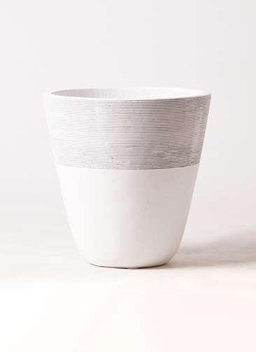 鉢カバー ジュピター 8号鉢用 白