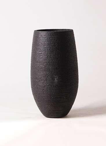 鉢カバー フォンティーヌトール 8号鉢用 黒