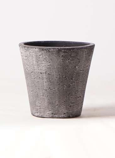 鉢カバー フォリオソリッド 8号鉢用 ブラックウォッシュ