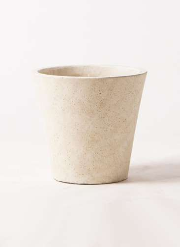 鉢カバー フォリオソリッド 8号鉢用 クリーム