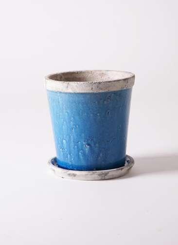 鉢カバー Antique Terra Cotta(アンティークテラコッタ) 6号鉢用 Blue