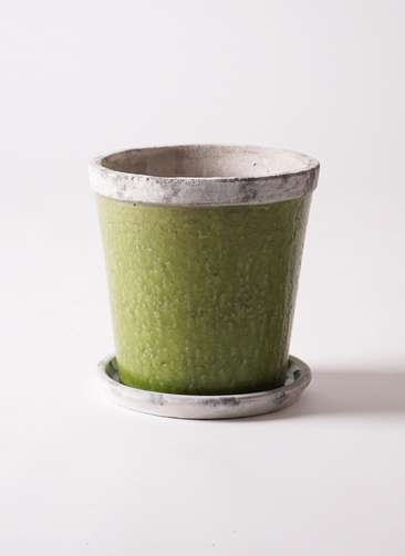 鉢カバー Antique Terra Cotta(アンティークテラコッタ) 6号鉢用 Green