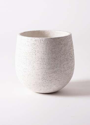 鉢カバー Eco Stone(エコストーン) 6号鉢用 white
