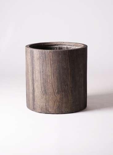 鉢カバー アルファ シリンダープランター ウッド 10号鉢用