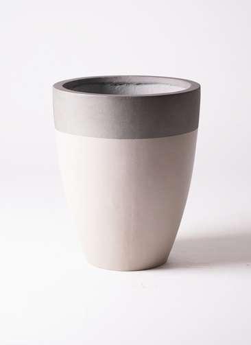 鉢カバー ファイバーストーン カプリ 8号鉢用 サンディホワイト