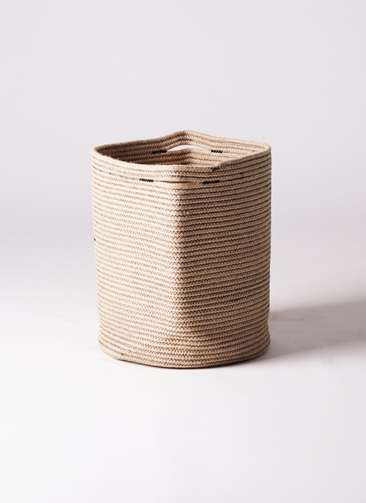 鉢カバー Rib Basket(リブバスケット) 10号鉢用 Natural