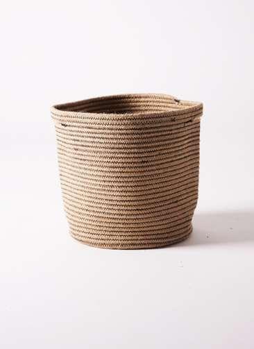 鉢カバー Rib Basket(リブバスケット) 8号鉢用 Natural