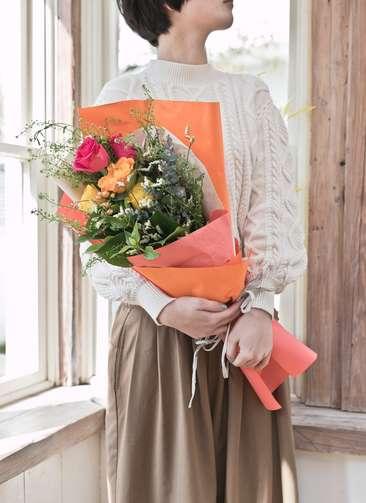 バラ 花束 ミックス S