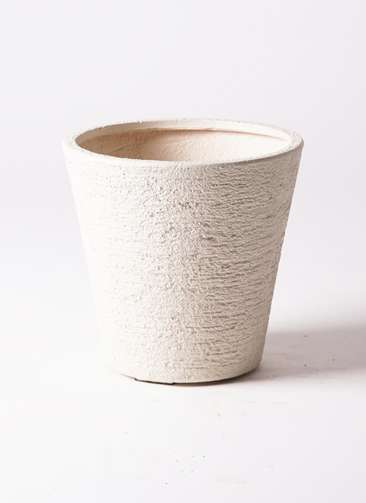 鉢カバー ビアスソリッド 8号鉢用 白