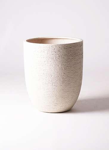 鉢カバー ビアスアルトエッグ 10号鉢用 白