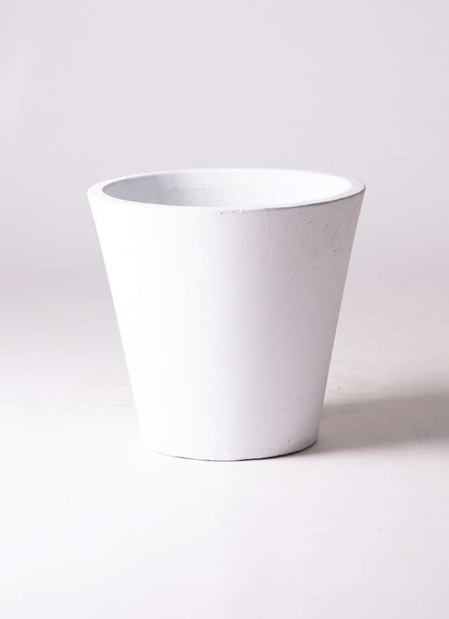 鉢カバー フォリオソリッド 8号鉢用 白