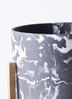 鉢カバー  ホルスト シリンダー 6号鉢用 マーブル ウッドポットスタンド付き 2枚目
