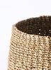 鉢カバー Abaca Basket (アバカバスケット)  5号鉢用 オリーブ #stem B1222 2枚目
