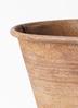 鉢カバー  ブリキ ラスティオーバル L #ASHGREY 31-051 2枚目