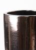 鉢カバー  ビトロ エンデカ 8号鉢用 ゴールド アイアンポットスタンド ブラック 付き #KONTON VT-011D10V 2枚目
