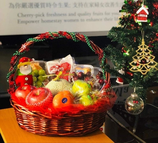 A fruits hamper presents gifts of love