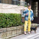 ペットと一緒に表参道の春散歩——スタイリスト岸本佳子が選ぶ、犬と猫のケアグッズ