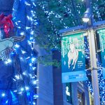 """""""馬""""が颯爽と駆け巡る、幻想的な六本木ヒルズのクリスマス"""