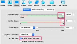 VirtualBoxでVMの動作が軽くなるようにチューニング4